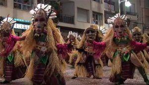 desfile de fiestas de Moros y Cristianos Cocentaina