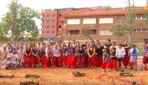embajada de los tomates en Cocentaina